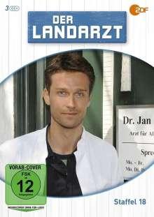 Der Landarzt Staffel 18, 3 DVDs