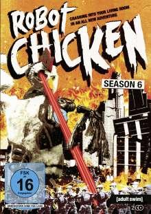 Robot Chicken Staffel 6, 2 DVDs