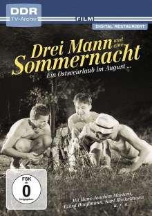 Drei Mann und eine Sommernacht, DVD