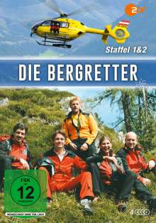 Die Bergretter Staffel 1 & 2, 4 DVDs