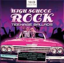 High School Rock: Teenage Ballads (Box-Set), 10 CDs