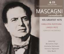 Pietro Mascagni (1863-1945): Mascagni counducts His Greatest Operas, 4 CDs