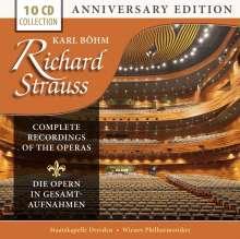 Richard Strauss (1864-1949): Karl Böhm dirigiert Opern von Richard Strauss (Gesamtaufnahmen) Vol.1, 10 CDs
