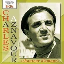 Charles Aznavour: Chanteur D'Amour, 8 CDs