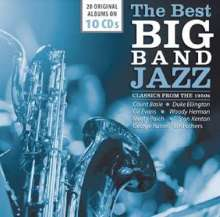 The Best Big Band Jazz: Classics From The 1950s, 10 CDs