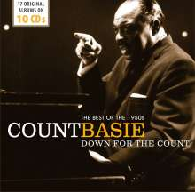 Count Basie (1904-1984): Down For The Count: The Best Of The 1950s (Wallet-Box), 10 CDs