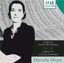 Marcelle Meyer - Complete Studio Recordings 1925 - 1957, 17 CDs