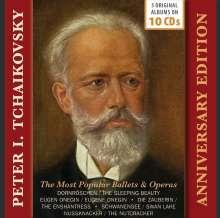 Peter Iljitsch Tschaikowsky (1840-1893): Anniversary Edition, 10 CDs