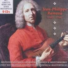 Jean Philippe Rameau (1683-1764): Jean Philippe Rameau - Werke, 10 CDs