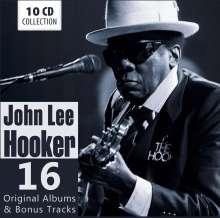 John Lee Hooker: 16 Original Albums & Bonus Tracks, 10 CDs