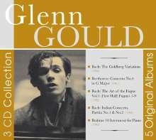 Glenn Gould - 3 CD Collection, 3 CDs