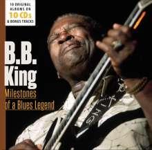 B.B. King: Milestones Of A Blues Legend - 10 Original Albums & Bonus Tracks, 10 CDs