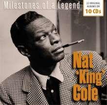 Nat King Cole (1919-1965): Milestones Of A Legend - 22 Original Albums, 10 CDs