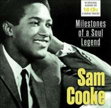 Sam Cooke: Milestones Of A Soul Legend - 10 Original Albums & Bonus Tracks, 10 CDs