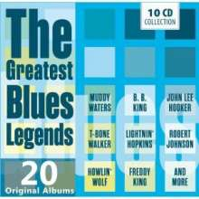 The Greatest Blues Legends - 20 Original Albums, 10 CDs