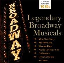 Musical: Legendary Broadway Musicals, 10 CDs