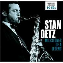 Stan Getz (1927-1991): Milestones Of A Legend - 18 Original Albums, 10 CDs
