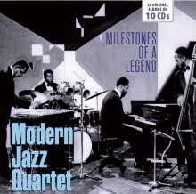 The Modern Jazz Quartet: Milestones Of A Legend - 20 Original Albums, 10 CDs