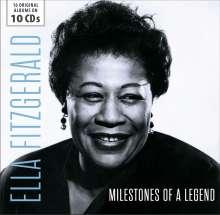 Ella Fitzgerald (1917-1996): Milestones Of A Legend - 16 Original Albums, 10 CDs