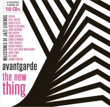 Jazz Sampler: Avantgarde: The New Thing (Milestones Of Jazz Legends), 10 CDs