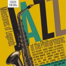 Jazz At The Philharmonic (Milestones Of Legends), 10 CDs