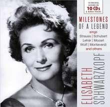 Elisabeth Schwarzkopf  - Milestones of a Legend, CD