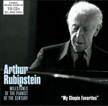 Arthur Rubinstein - My Chopin Favorites, 10 CDs