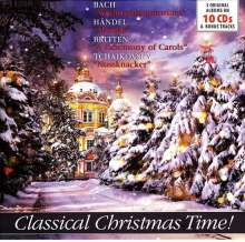Classical Christmas Time, 10 CDs