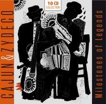 Milestones Of Legends - Cajun und Zydeko, 10 CDs