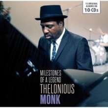 Thelonious Monk (1917-1982): Milestones Of A Legend - 15 Original Albums, 10 CDs