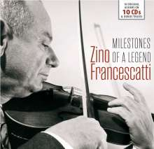 Zino Francescatti - Milestones of a Legend, 10 CDs