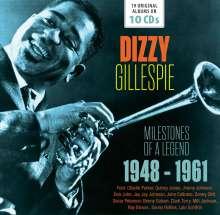 Dizzy Gillespie (1917-1993): Milestones Of A Legend - 19 Original Albums, 10 CDs