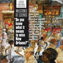 Jazz Sampler: Do You Know What It Means To Miss New Orleans? (Milestones Of Legends), 10 CDs