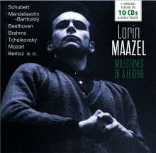 Lorin Maazel - Milestones of a Legend, 10 CDs