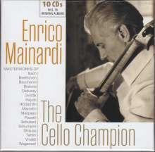 Enrico Mainardi - The Cello Champion, 10 CDs