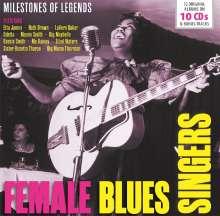 Female Blues Singers, 10 CDs