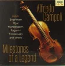 Alfredo Campoli - Milestones of a Legend, 10 CDs