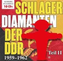 Schlager-Diamanten der DDR Teil II: 1959 - 1962, 10 CDs