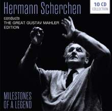 Hermann Scherchen - Milestones of a Legend, 10 CDs