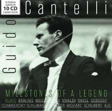 Guido Cantelli - Milestones of a Legend, 10 CDs