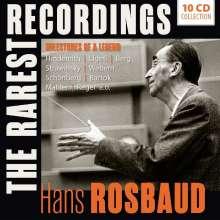 Hans Rosbaud - The Rarest Recordings, 10 CDs