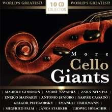 More Cello Giants, 10 CDs