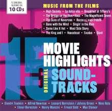 Filmmusik: 15 Movie Highlights, 10 CDs