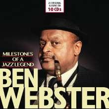 Ben Webster (1909-1973): Original Albums, 10 CDs