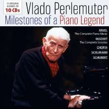 Vlado Perlemuter - Milestones of a Legend, 10 CDs