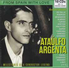 Ataulfo Argenta - Milestones of a Conductor Legend, 10 CDs