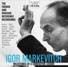 Igor Markevitch - Milestones of a Conductor Legend, 10 CDs