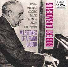 Robert Casadesus - Milestones of a Piano Legend, 10 CDs