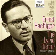 Ernst Haefliger Edition - The Lyric Tenor, 10 CDs