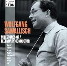 Wolfgang Sawallisch - Milestones of a legendary Conductor, 10 CDs